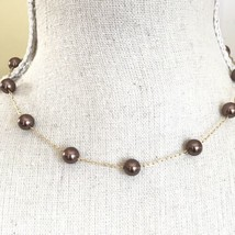 RMN The Roman Company Vintage Faux Pearl Gold Choker Necklace - $16.83