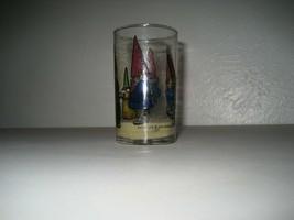 Vintage 1979 Earth Lite Gnome Votive Drinking Glass Unieboek,B.V. candle - $14.84