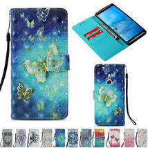For Sony Xperia Phones Shockproof Patterned Flip Leather Wallet Strap Case Cover - $62.16