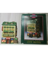 MEMORIES COLLECTION ILLUMINATED PORCELAIN City Hotel  - $24.74