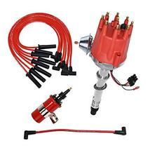 A-Team Performance Pro Series Ready 2 Run Distributor, 8.0mm Spark Plug Wires, 4