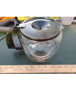 "8LL59  MR. COFFEE POT FROM BREWER, 10 CUP, 8-1/2"" X 6-1/4"" X 5"" +/- OVER... - $8.79"