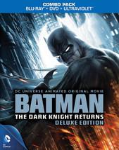 (Used) Batman: The Dark Knight Returns - Deluxe Edition Blu-ray/DVD/Case... - $6.99