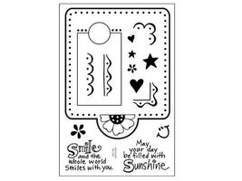 Stampendous Clipboard Décor Clear Stamp Set #SSC158 - $8.99