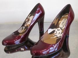 STUART WEITZMAN  Deep Red Patent Leather Round Toe Pumps - Size 9M - $59.99