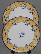 Set (2) Nancy Calhoun SANTANA PATTERN Serving Platters SPAL - Made in Po... - $168.29