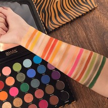 35 Colors Eyeshadow Palette Makeup Set Matte Shimmer Matte Blending Powder Velve - $18.50
