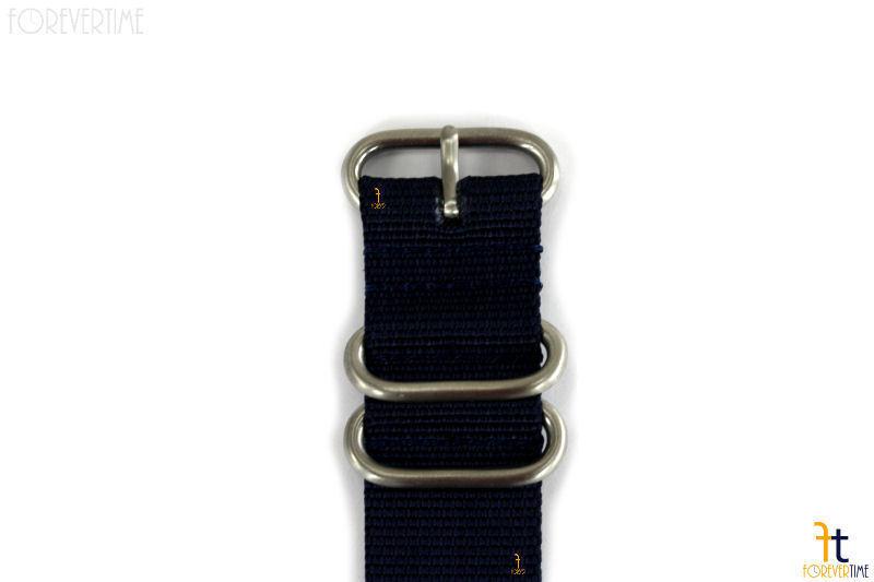 22mm para Luminox Nailon Tejido Azul Oscuro Correa para Reloj de Pulsera 4