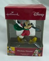 "Walt Disney MICKEY MOUSE w/ SKIS 3"" HALLMARK CHRISTMAS HOLIDAY ORNAMENT NEW - $14.85"