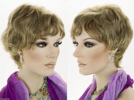 Medium Short Human Hair Pixie Cut Wavy Straight Blonde Brunette Red Grey... - $53.99