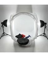 60cm Photo Studio Softbox Photography Light Tent Foldable White Cubic Bo... - $57.99