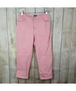 St Johns Bay Womens Capri Pants Size 6 Cropped Stretch #790 - $12.86