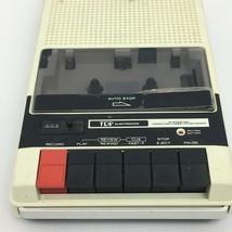 Vintage Cassette Tape Recorder TDP Electronics Model 10-1250 Works - $22.99