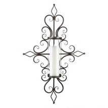 Flourished Candle Wall Sconce - $59.95