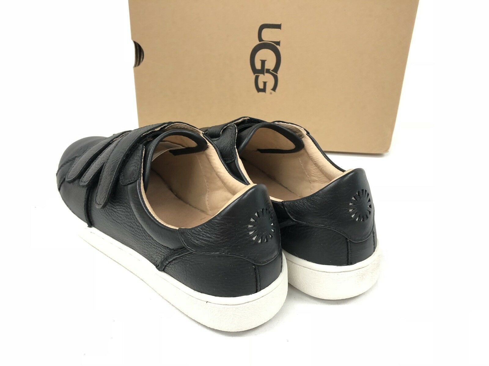 Ugg Australia Alix Leather Sneaker Tennis Shoe 1092530 Black Women's Shoes
