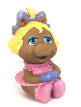 Vintage Miss Piggy  Muppet Baby (Babies)  Rubber Toy Figure Hasbro 1984 - $21.29