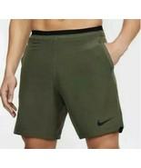 New Nike Pro Flex Repel Training Shorts Green CD4317-325 Men's Size L - $50.00