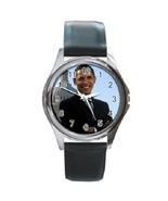 Barack Obama Unisex Round Metal Watch Gift model 17219405 - $13.99