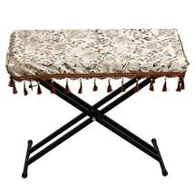 Velvet Electronic Piano Keyboard Dust Cover Protective Decorated Keyboard Cloth