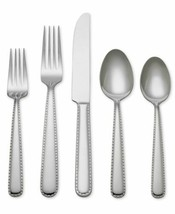Reed and Barton Stitch 40 Piece  Flatware Set, Silver (service for 7) - $99.98