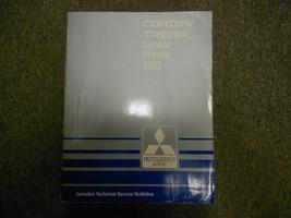 1983 Mitsubishi Cordia Tredia Service Repair Shop Manual Factory Oem Book 83 - $17.05