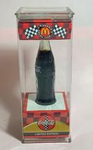 "Coke Coca-Cola McDonald's Mini Miniature 3.5"" Soda Bottle Bill Elliott #94 1999 image 2"