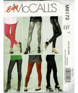 McCall's Pattern M6173 Misses/Miss Petite Easy Pant & Leggings Xsm Sml Med New - $5.93