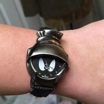 Warner Brothers 1997 Marvin The Martian Watch 3D Helmet Armitron New Bat... - $54.45