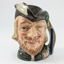 Royal Doulton Robin Hood D6534 1959 Small Toby Character Jug Mug - $9.49