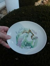Vintage Rosenthal porcelain handmalerei German ovalesque plate. - $14.00