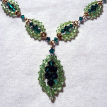 Crystal Beaded Marquis Chain image 3