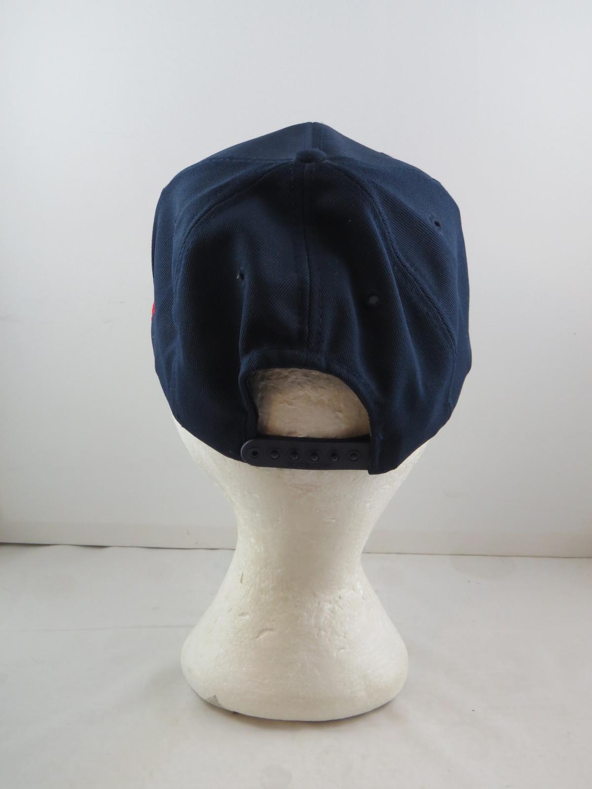 Cleveland Indians Hat (VTG) - 1970s All Polyester by Twins - Adult Sanpback
