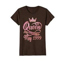 Funny Shirts - Queens born in May 1999 19th Birthday Gift 19 years old Wowen image 4