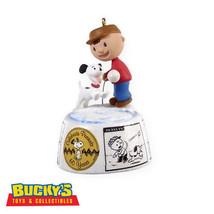 Peanuts 60th Anniversary 2009 Hallmark Ornament Snoopy & Charlie Brown C... - $28.66
