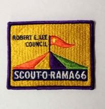 Vintage Robert E. Lee Council 1966 Scout-O-Rama Boy Scouts Of America Patch Bsa - $7.99