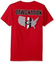 Georgia Bulldogs NCAA Men's Stripe Dawg Nation T-Shirt, Small, NWT - $12.16
