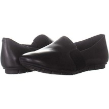 Born Cadet Slip On Comfort Flats 060, Black, 9.5 US / 41 EU - $47.03