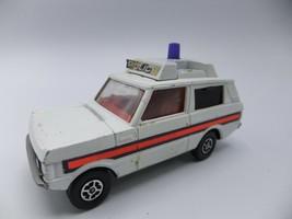 Corgi Whizzwheels Vigilant Range Rover #461 Police Car White Made in England - $19.34