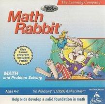 Math Rabbit Ages 4-7 - $6.94