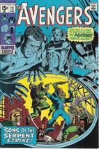 The Avengers Comic Book #73 Marvel Comics 1970 FINE - $15.44
