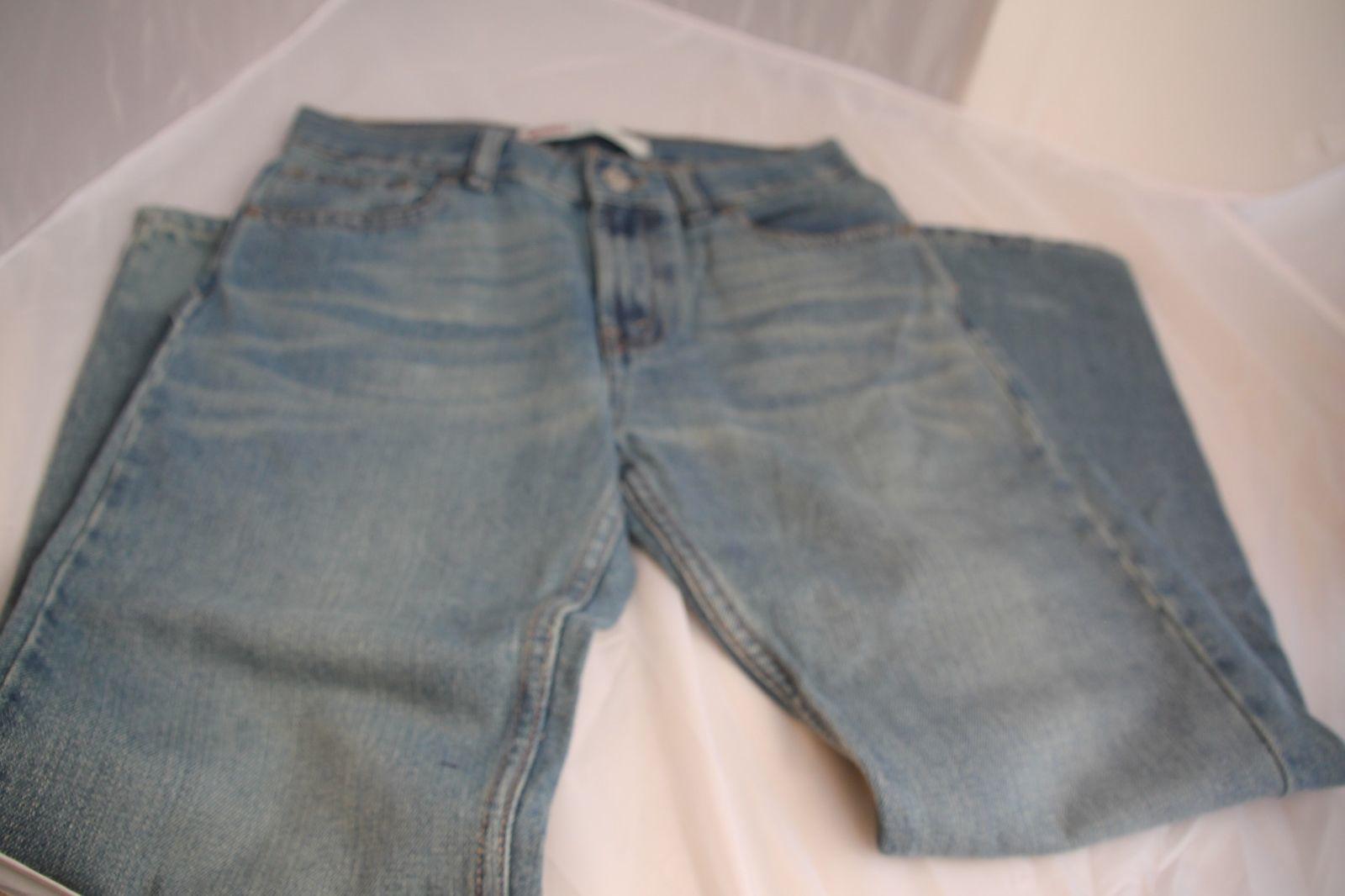 1a8282003c3 Levi's Boys 505 Blue Straight Leg Jeans Size and 36 similar items. S l1600
