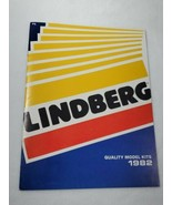 1982 Lindberg Catalog with Price List Quality Model Kits 27 Color Pages ... - $14.85