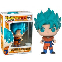 Dragon Ball Funko POP! Vinyl Hot Topic exclusive Super Saiyan Blue Goku - $49.90