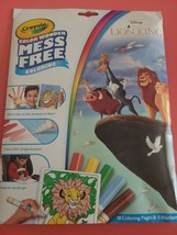 Crayola Color Wonder Coloring Book. The Lion King. - $3.91