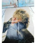 Rockbill Rod Stewart 1981 Sony Tape Concert Fold Out Poster - $8.90