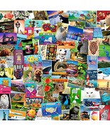 POSTCARD SET of 50 cards. Post card variety pack of random assortment of... - $18.40