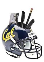California Golden Bears (Navy) NCAA Football Schutt Mini Helmet Desk Caddy - $21.95