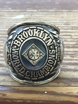 Brooklyn DODGERS 1955 World Series First Champions Ring Size 13 MLB Base... - $45.95