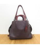 Coach Oxblood Leather 20315 Rogue Handbag Glove Tanned Shoulder Purse NE... - $475.00