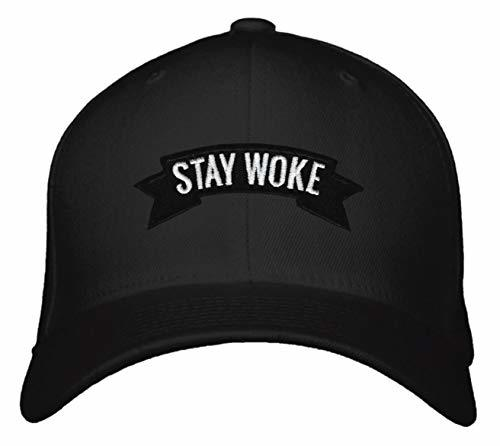 Stay Woke Hat Adjustable Snapback Cap